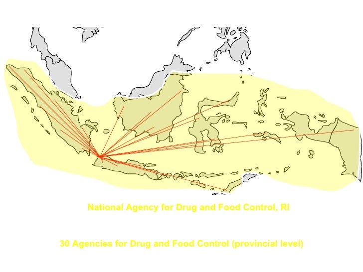 National Agency for Drug and Food Control, RI 30 Agencies for Drug and Food Control (provincial level)