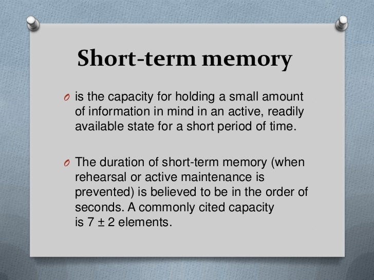 short term memory and long term memory essay Long-term memory long term memory is the system of memory into which all the information is placed to be kept more or less permanently this is the third.