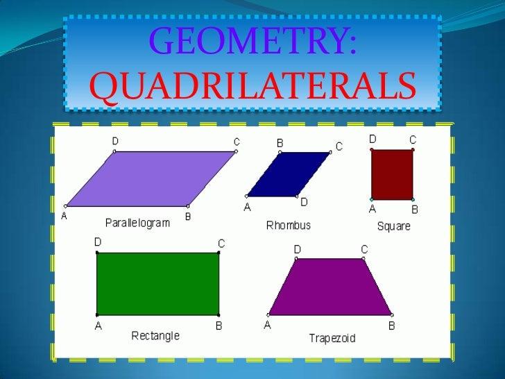 GEOMETRY:QUADRILATERALS