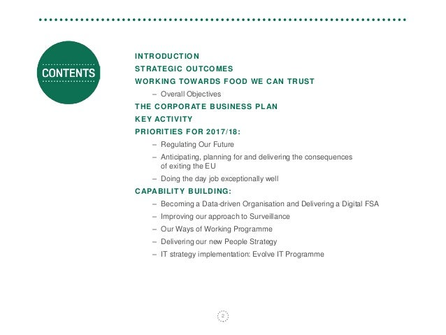 fca business plan 2017/18 ey