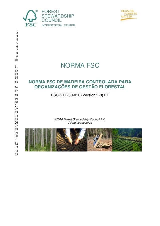 FOREST STEWARDSHIP COUNCIL INTERNATIONAL CENTER  1 2 3 4 5 6 7 8 9 10 11 12 13 14 15 16 17 18 19 20 21 22 23 24 25 26 27 2...