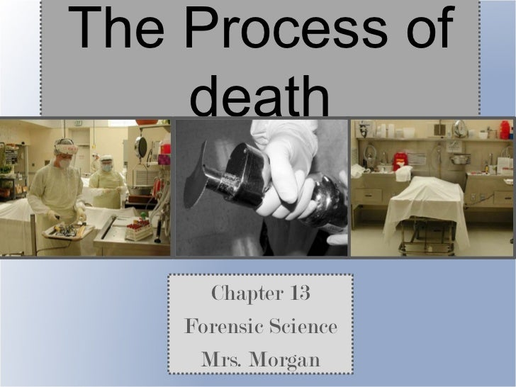 The Process of    death      Chapter 13    Forensic Science     Mrs. Morgan