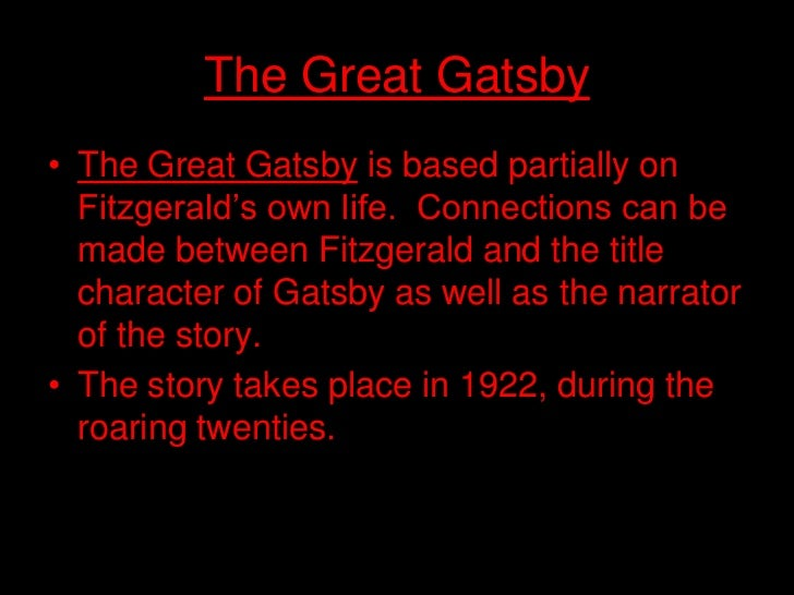 incorporation of the american dream in the great gatsby by f scott fitzgerald The american dream is the  spreading the american dream: american  this change was described in the f scott fitzgerald novel, the great gatsby.