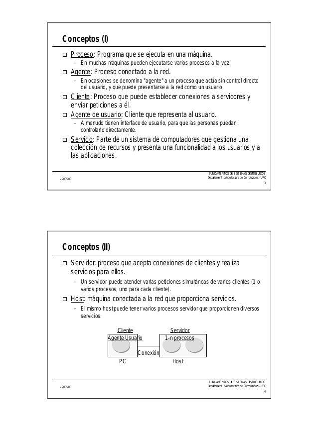 Sistemas Distribuidos conceptos generales Slide 2