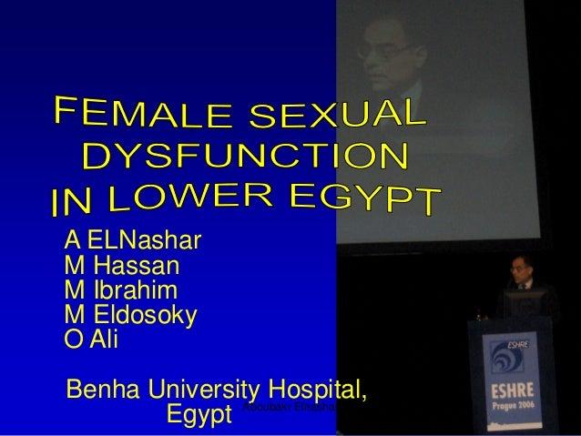 A ELNashar M Hassan M Ibrahim M Eldosoky O Ali Benha University Hospital, Egypt Aboubakr Elnashar