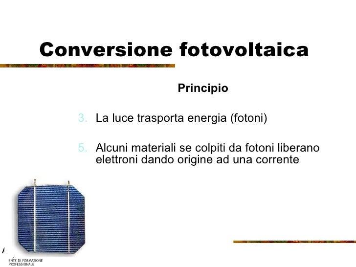 Fse 08 lezione fotovoltaico for Conversione are mq