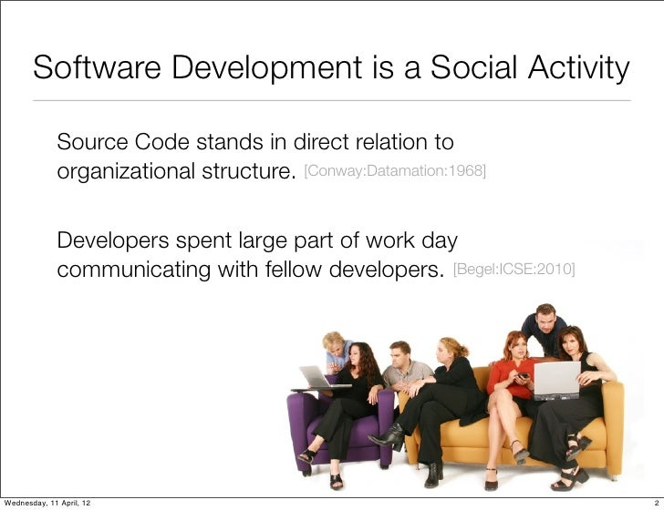 Mining Development Repositories to Study the Impact of Collaboration on Software Systems Slide 2