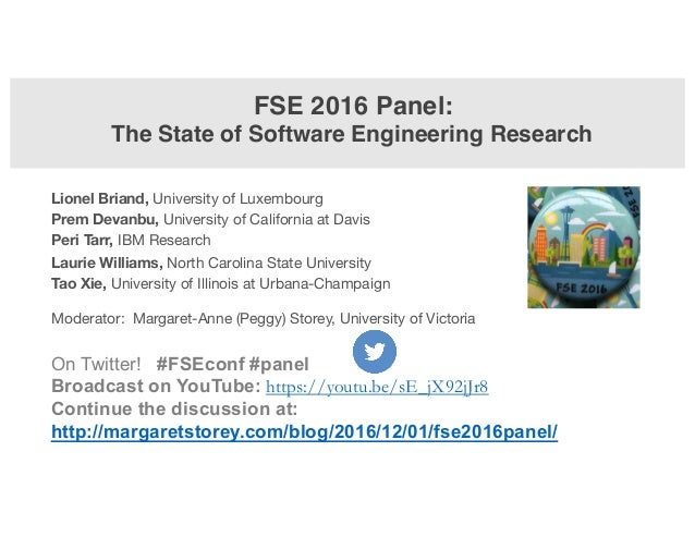 On Twitter! #FSEconf #panel Broadcast on YouTube: https://youtu.be/sE_jX92jJr8 Continue the discussion at: http://margaret...