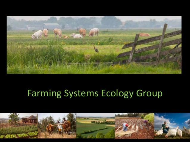 Farming Systems Ecology Group