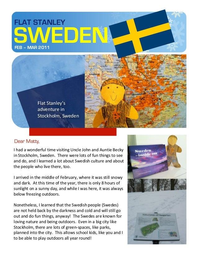 FLAT STANLEY       SWEDEN          FEB – MAR 2011                                                                     ...