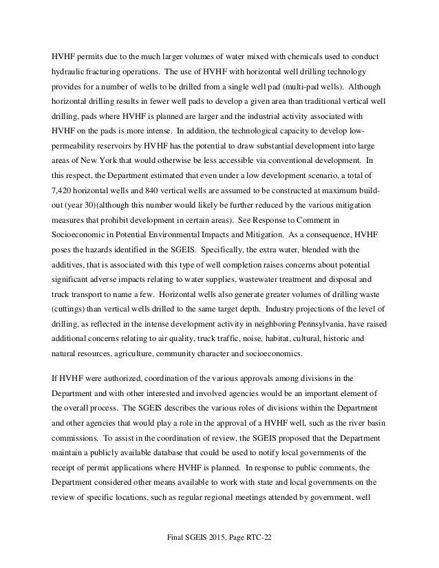final programmatic environmental impact statement Final programmatic environmental assessment for the exxonmobil  eis  environmental impact statement epa us environmental protection agency  esa.