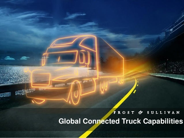 Global Connected Truck Capabilities