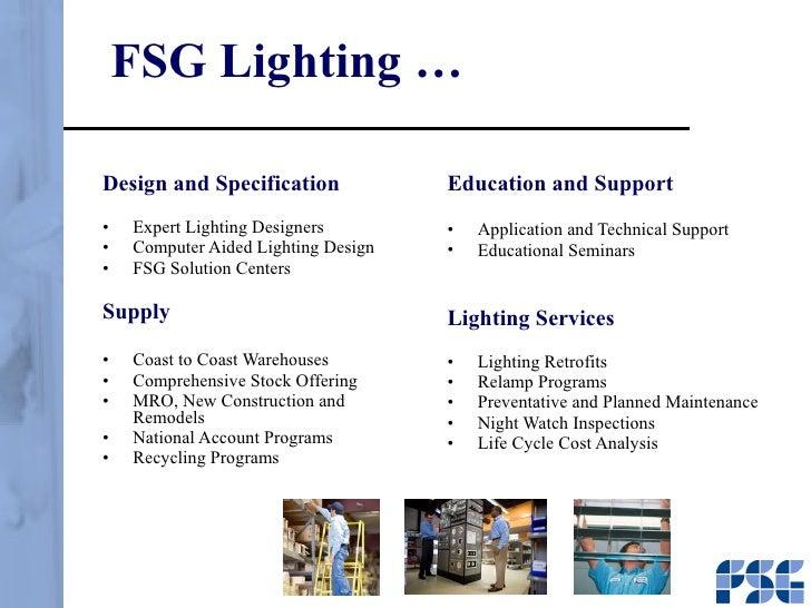 FSG Lighting u2026  sc 1 st  SlideShare & FSG Presentation azcodes.com