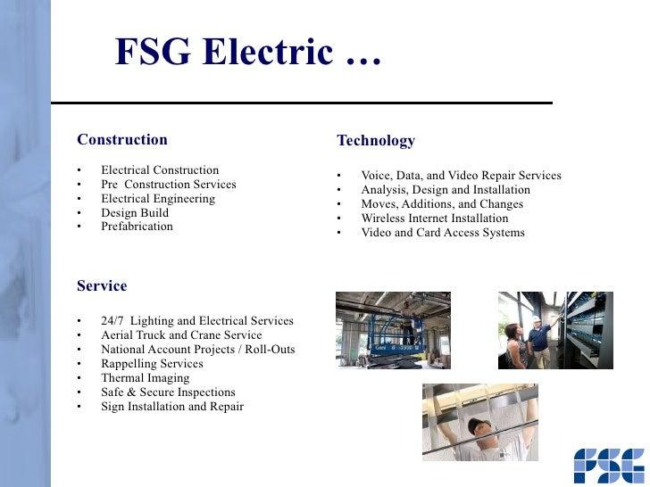 FSG Electric u2026  sc 1 st  SlideShare & FSG Presentation azcodes.com