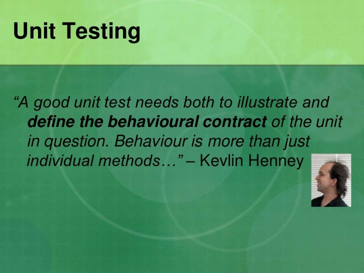 kevlin henney how to write a method