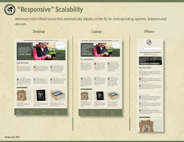 """Responsive"" Scalability Advanced code infrastructure that automatically adjusts on-the-fly for most operating systems, br..."
