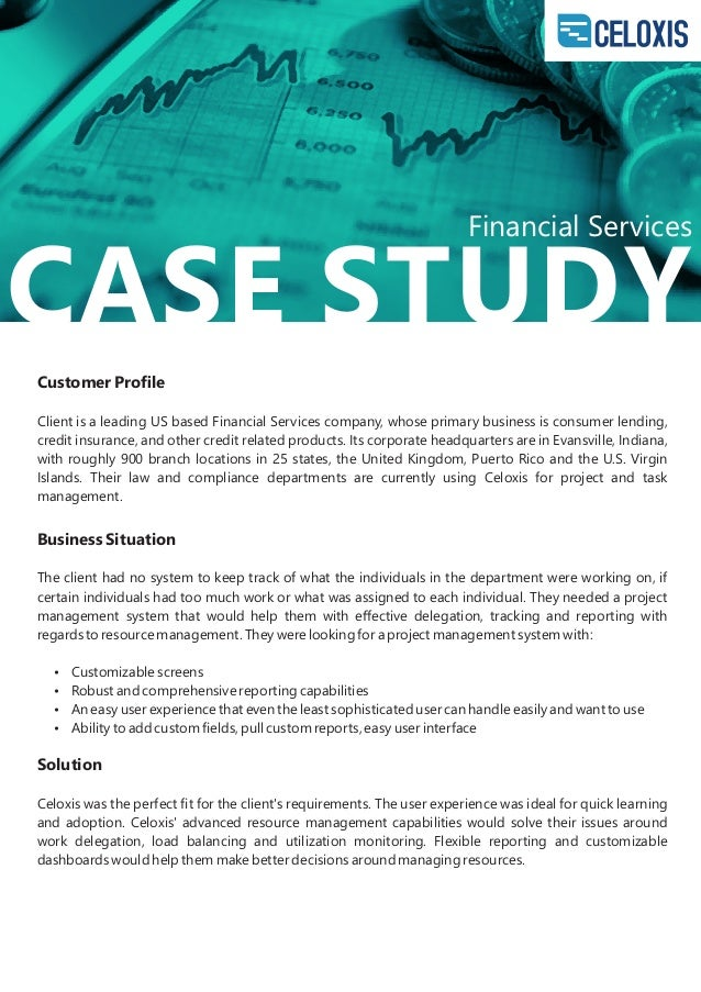 financial case studies Scientific papers (wwwscientificpapersorg) journal of knowledge management, economics and information technology 1 vol iii, issue 5 october 2013.