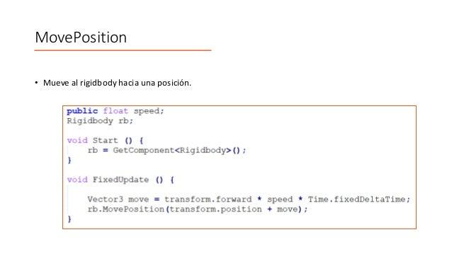 Física 3D en Unity - Clase 3 / 4