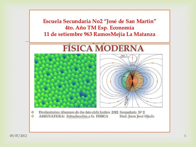 """Escuela Secundaria No2 """"José de San Martin""""                      4to. Año TM Esp. Economía             11 de setiembre 963..."""
