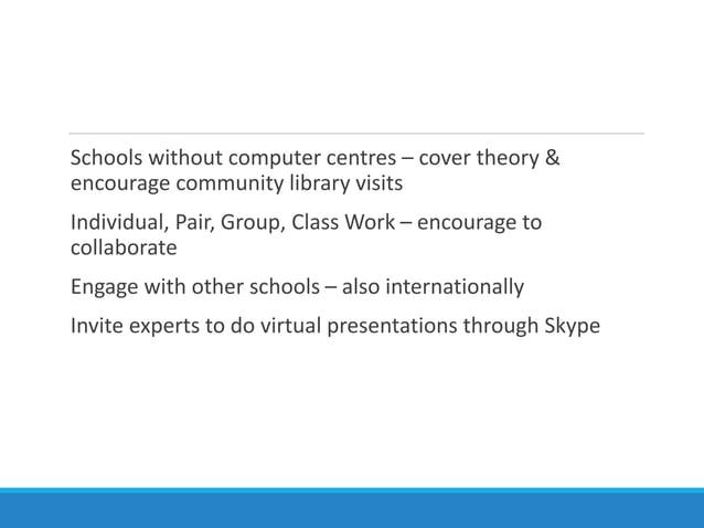 Digital Citizenship: Information, Communication and Media Literacy