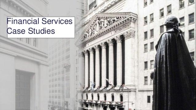 Financial Services Case Studies