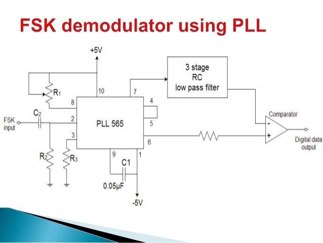 Fsk Modulator Circuit Diagram | Fsk Fm Demodulator Voltage Regulator Ics