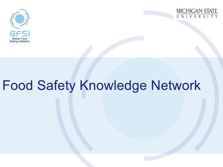 Food Safety Knowledge Network