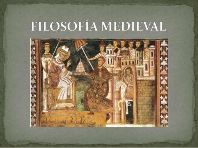 FILOSOFIAS Mil anos. Foi esse o período aproximado que denominamos como idade medieval, da queda do império romano no sécu...