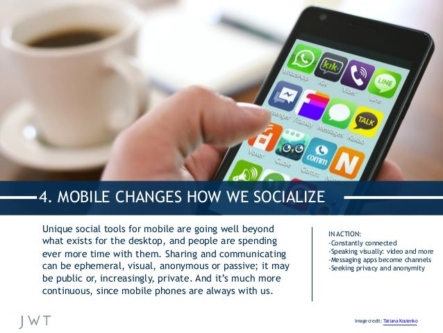 Unique social tools for mobile are going well beyond what exists for the desktop, and people are spending ever more time w...