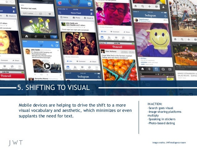 Mobile devices are helping to drive the shift to a more visual vocabulary and aesthetic, which minimizes or even supplants...