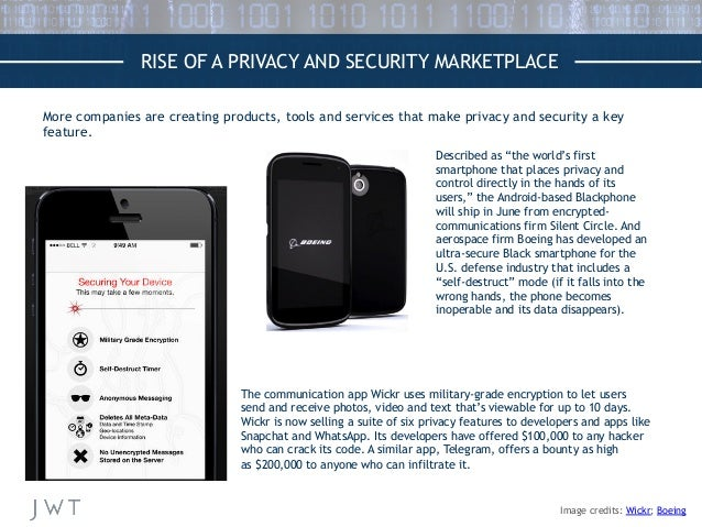 More companies are creating products, tools and services that make privacy and security a key feature. RISE OF A PRIVACY A...