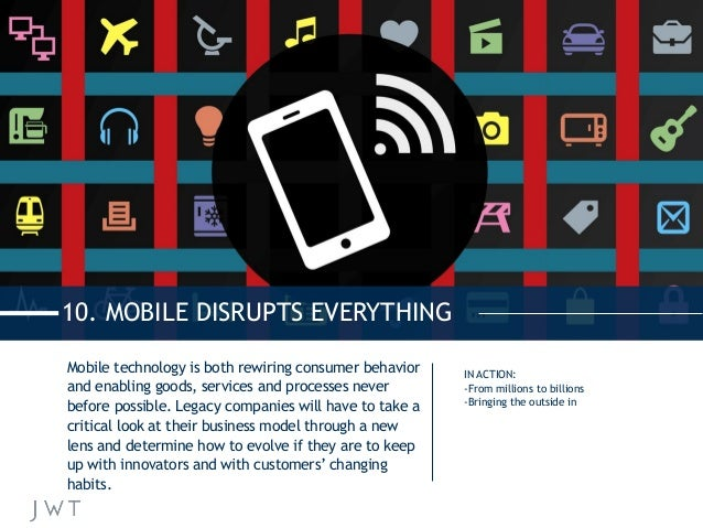 Mobile technology is both rewiring consumer behavior and enabling goods, services and processes never before possible. Leg...