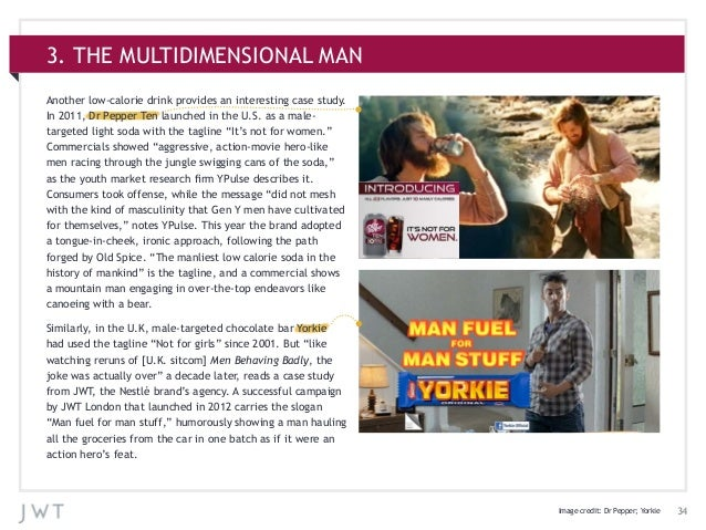 343. THE MULTIDIMENSIONAL MANAnother low-calorie drink provides an interesting case study.In 2011, Dr Pepper Ten launched ...