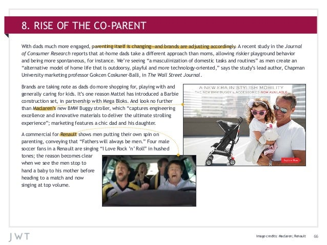668. RISE OF THE CO-PARENTWith dads much more engaged, parenting itself is changing—and brands are adjusting accordingly. ...