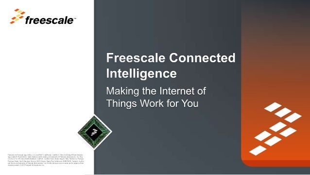 TM  Freescale, the Freescale logo, AltiVec, C-5, CodeTEST, CodeWarrior, ColdFire, C-Ware, the Energy Efficient Solutions l...