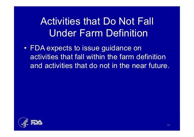 Low Acid Food Fda Definition