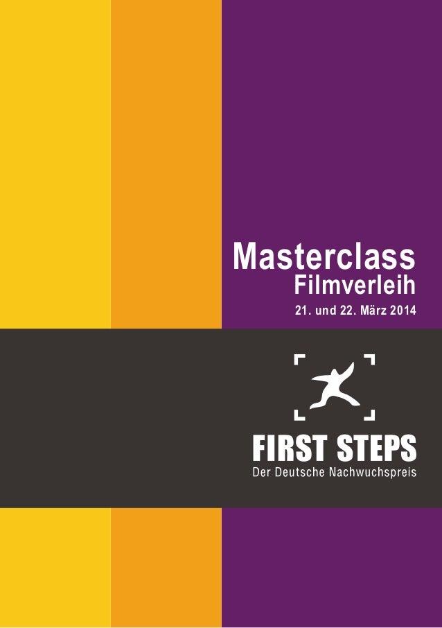 Masterclass Filmverleih 21. und 22. März 2014