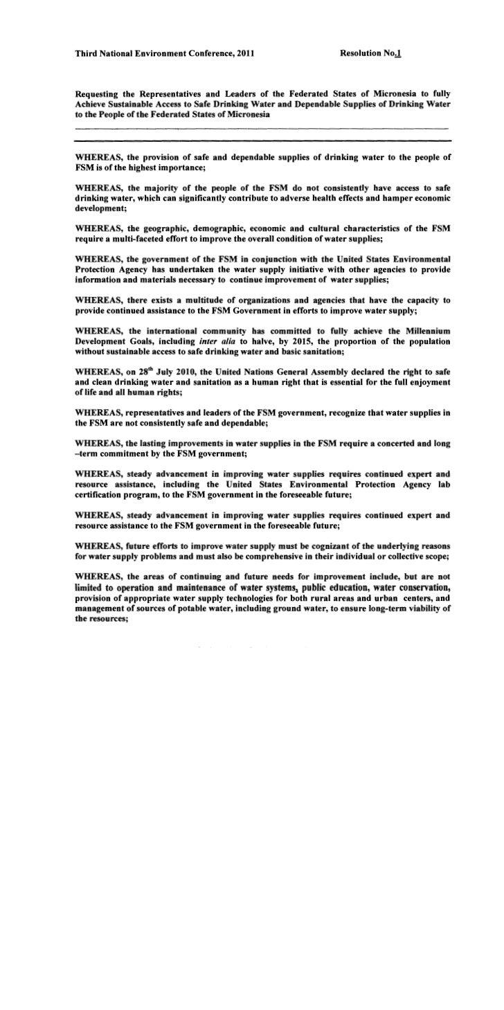 Fsm EPA Resolution_ 2011