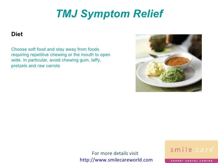 tmj disorder treatment soft food diet