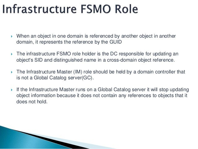 how to move fsmo roles