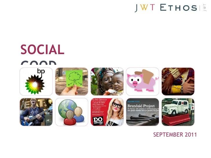SOCIALGOOD         SEPTEMBER 2011