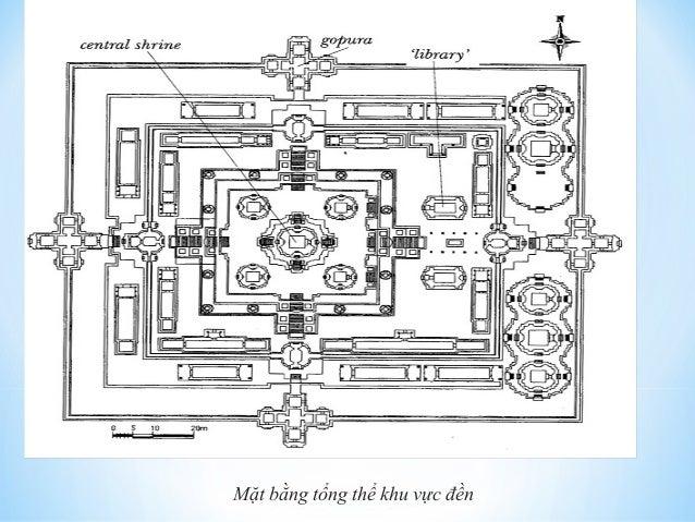 Mặt bằng tổng thể khu vực đền