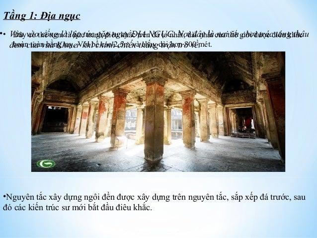 Tầng 1: Địa ngục  • Đây có thể xem là bức tranh điêu khắc trên đá to nhất, dài nhất của thế giới được điêu khắc  hoàn toàn...