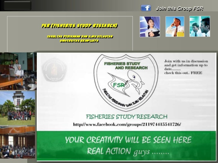 LOGO                                            Join this Group FSR       FSR (FISHERIES STUDY RESEARCH)         FAKULTAS ...