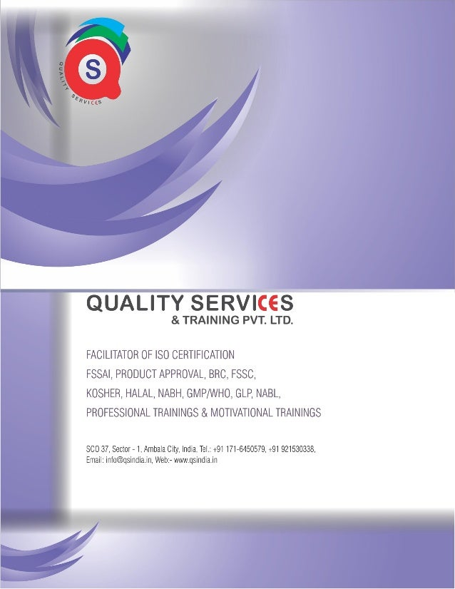 About Us Quality Services & Training Pvt. Ltd. was setup with the aim of providing higher end training and system services...