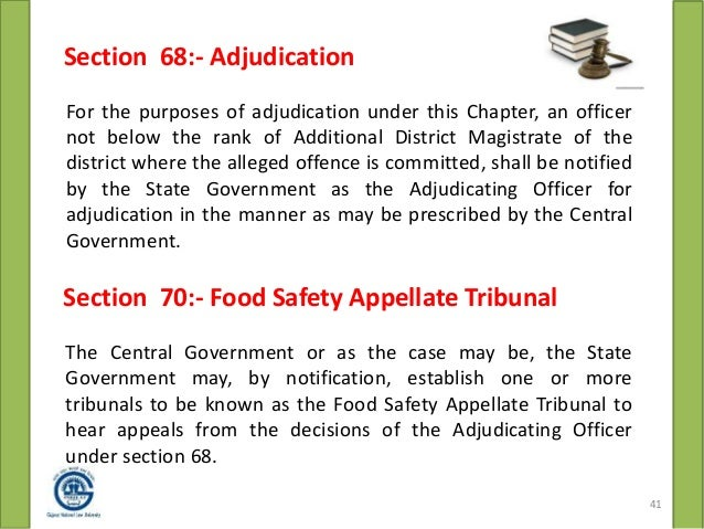 Food Safety Appellate Tribunal