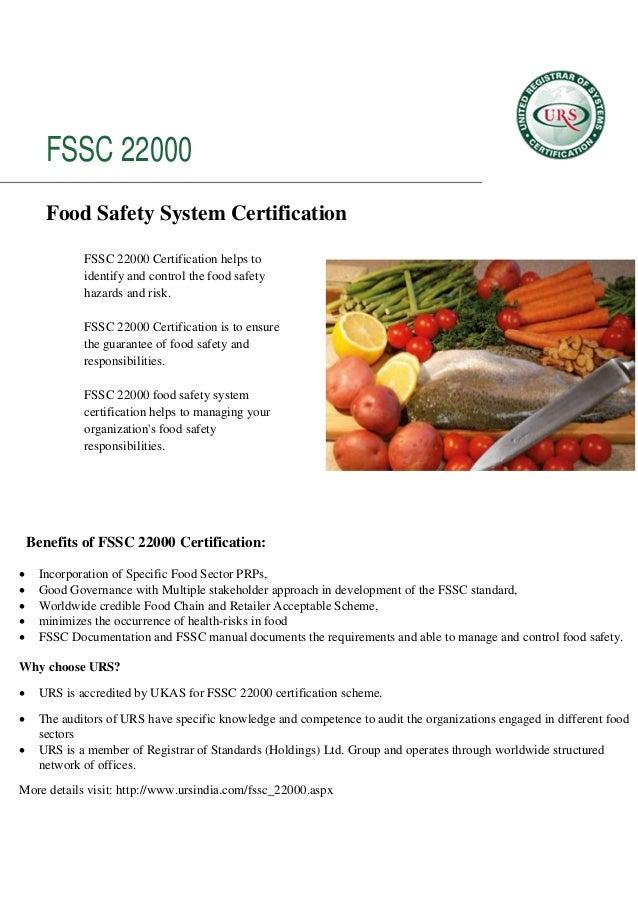benefits of Fssc 22000 certification