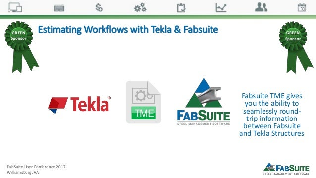 FabSuite User Conference Sponsors Power Point