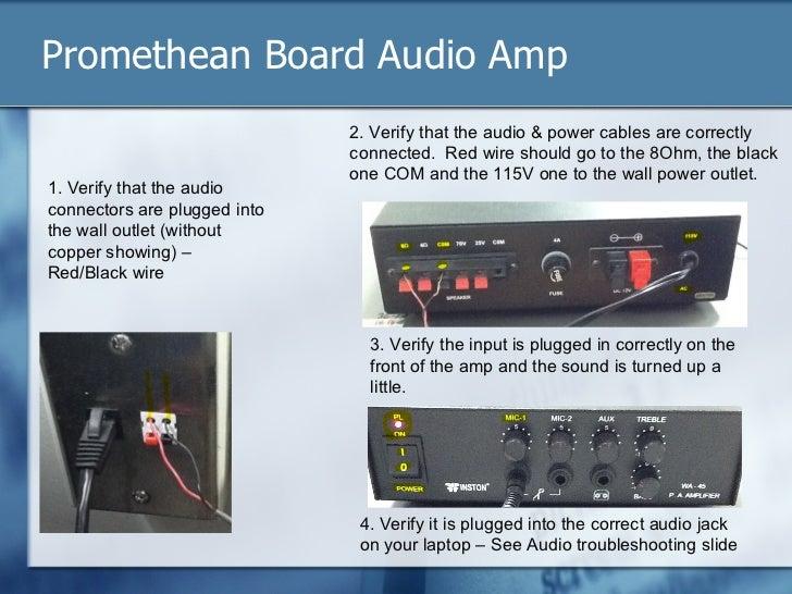 promethean board troubleshooting