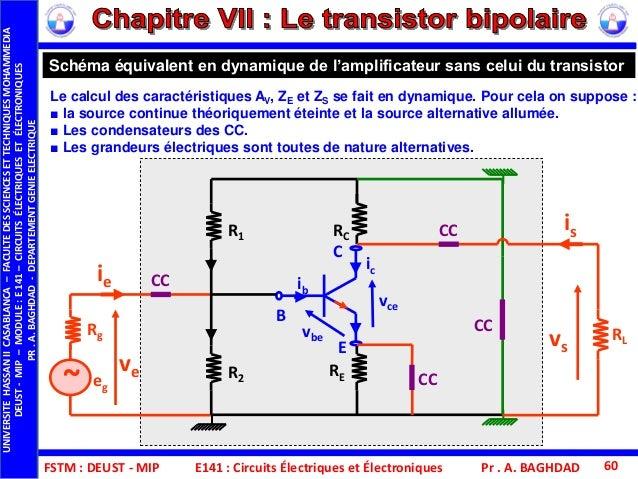 Fstm deust mip e141 cee chap vii le transistor bipolaire for Le transistor